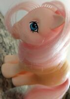 My Little Pony G1 Vintage MLP ~ PEACHY ~ Flat Foot ~ Nice Symbols! HTF!