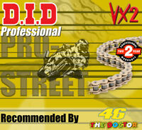 DID Gold  X-Ring  Drive Chain 520 P - 118 L for KTM EXC
