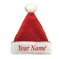 Personalized Custom Embroidered Christmas Xmas Santa Hat Fast Fre 00004000 e Shipping