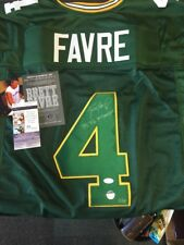 """Brett Favre Limited Edition Autographed Signed Jersey """"The 3x MVP"""" #/44 B62"""