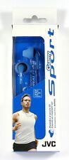 HAEN10-A-K  JVC Gumy Sport Sweatproof & splashproof Earbuds/Earphones (Blue)