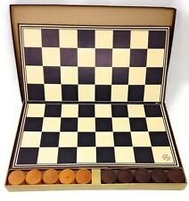 Vintage Pleasantime Tournament Checkers Set by Pacific Game Co. Hollywood, Calif