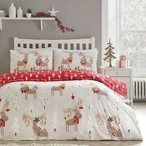 Merry Chtristmoose Reversible Christmas Duvet Covers