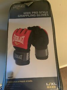 Everlast MMA Pro Style Grappling Gloves - Large/Extra Large Brand New in Box
