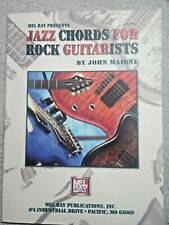 Mel Bay Jazz Chords For Rock Guitarists John Maione