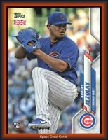 2020 Topps UK Edition Exclusive Adbert Alzolay Chicago Cubs RC 66