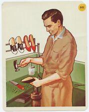 1966 Peabody Language Development Card #0-51 Cobbler/Shoe-Repair