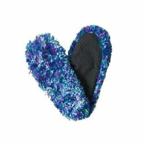 Fuzzy Footies - Blue/Green/Purple