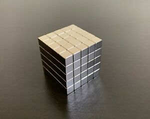 STRONG MAGNETS 5MM CUBE NEODYMIUM N42 1.1Kg PULL BLOCK MAGNETIC CUBES SQUARE