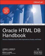 Oracle HTML DB Handbook (Oracle)-ExLibrary