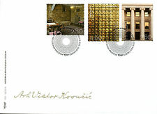 Croatia 2016 FDC Modern Architecture & Design Viktor Kovacic 3v Cover Stamps