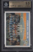 BGS 9.5 MICHAEL JORDAN 1992 ACC Tournament Champions #29 UNC Tar Heels GEM MINT