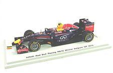 Red BULL RACING rb10 n. 3 Daniel Ricciardo-Winner BELGIUM GP 2014