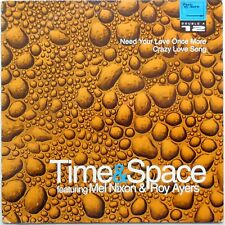 DISCO VINILE 45 GIRI Time&Space Featuring Mel Nixon & Roy Ayers  1994 PJ 0001T