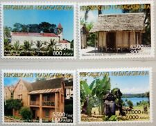 Stamp Timbres Timbre De Madagascar Neuf N° 508 ** College Razafindrahety Tananarive