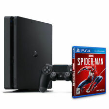 NEW Sony PlayStation 4 Slim 1TB Spider-Man Console Bundle - Controller + Game