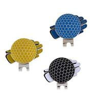 Golf Cap Clip Magnetic Hat Clips Metal Golf Ball Markers Marker Hat Clip 1pc Hot