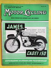 MOTOR CYCLING MAGAZINE - May 30, 1957 - The Cornet Three Wheeler - Vintage