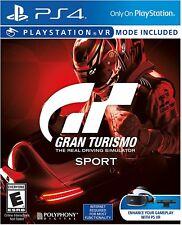 GRAN TURISMO SPORT (Sony Playstation 4, 2016)