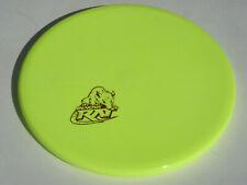 Disc Golf Innova Star Rat Mini-Stamp Overstable Mid-Range Disc 174g Neon Yellow