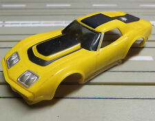 for H0 slotcar racing Model Railway Corvette Bodywork
