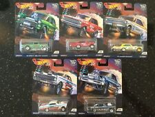 2018 Hot Wheels Car Culture Drag Strip Demons Set '55 Gasser,  '66 Super Nova ..