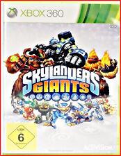 XBOX360  SKYLANDERS  GIANTS GAME - KOMPLETT IN DEUTSCH UND MULTILINGUAL