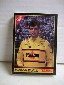 1991 Traks - Michael Waltrip Team Set - 25 Cards - Pennzoil NASCAR Racing