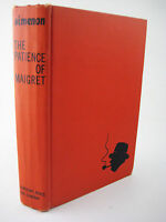 1st Edition Patience of Maigret George Simenon First Printing Mystery Fiction