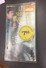 Little Shop Of Horrors VHS Musical Comedy Warner 1961 Slip Case Free Shipping