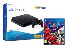 PS4 500GB SLIM BLACK F CHASSIS + PES 2020 EFOOTBALL EU - HDR - OFFERTA !
