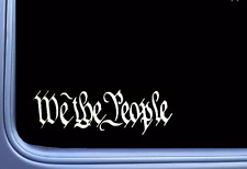 We the People Decal Vinyl Sticker 2a Second Amendment Car Window Laptop Obama