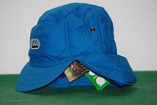 vintage diadora nos BNWT ski earflap Cover Cap Hat ITALY shiny satin Bluette