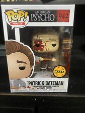 Patrick Bateman Funko Pop Movies 943 American Psycho Rare Chase Bloody Axe