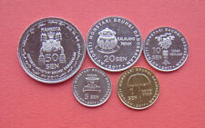Brunei 2017 Golden Jubilee-50th Annv. of Accession to the Throne 5 Coins Set UNC