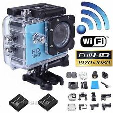 wifi Sport action Camera wireless Camcorder 1080P HD 12MP+part for SJ4000 I