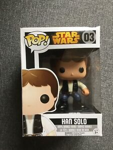 Funko POP Star Wars 03 Mint In Box