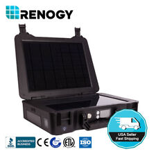 Renogy 20 watt Solar Panel Kit All-in-one Portable Camping with Li-ion Battery