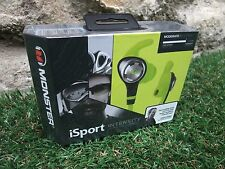 Monster iSport Intensity Headphones In Neon Green ~ Brand New In Sealed Box