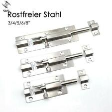 """3/4/5/6/8""""Long Silver Stainless Steel Door Latch Bolt Gate Safety Lock"""