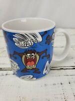 TAZ TASMANIAN DEVIL Coffee Mug 1994 Applause VTG Looney Tunes CLEAN! FREE S&H