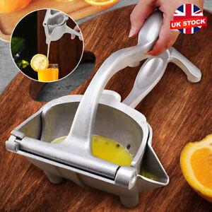 Manual Juicer Hand Citrus Juice Press Orange Squeezer Fruit Extractor Grinder UK