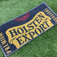 Retro 1990s Holsten Export Bar Towel - Grey/Yellow/Red - Man Cave Pub - Spurs
