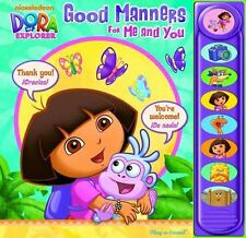 Nickelodeon Dora the Explorer: Good Manners for Me and You (Sound Book)