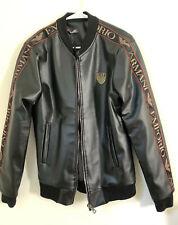 Emporio Armani leather jacket mens size M