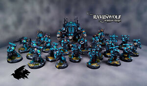 Chaos space marine battleforce decimation warband painted by our studio