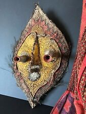 Old Papua New Guinea East Sepik River Abelam Yam Mask …beautiful colour & patina