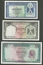 Egypt.......9 notes from the 60s.......some RARE.
