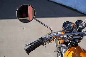 1969 to 1973 Yamaha clamp on mirror DT1 DT2 DT3 RT1 RT2 RT3 CT1 CT2 CT3 AT1 AT2