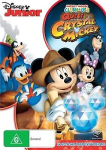 Mickey Mouse Clubhouse - Quest For The Crystal Mickey (DVD, 2013)